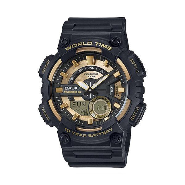 Reloj Casio COLLECTION Hombre AEQ-110BW-9AVEF digital cronografo