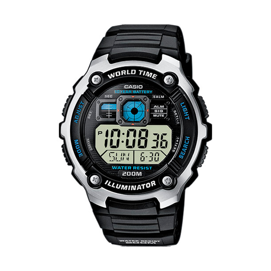 Reloj Casio COLLECTION Unisex AE-2000WD-1AVEF digital cronografo