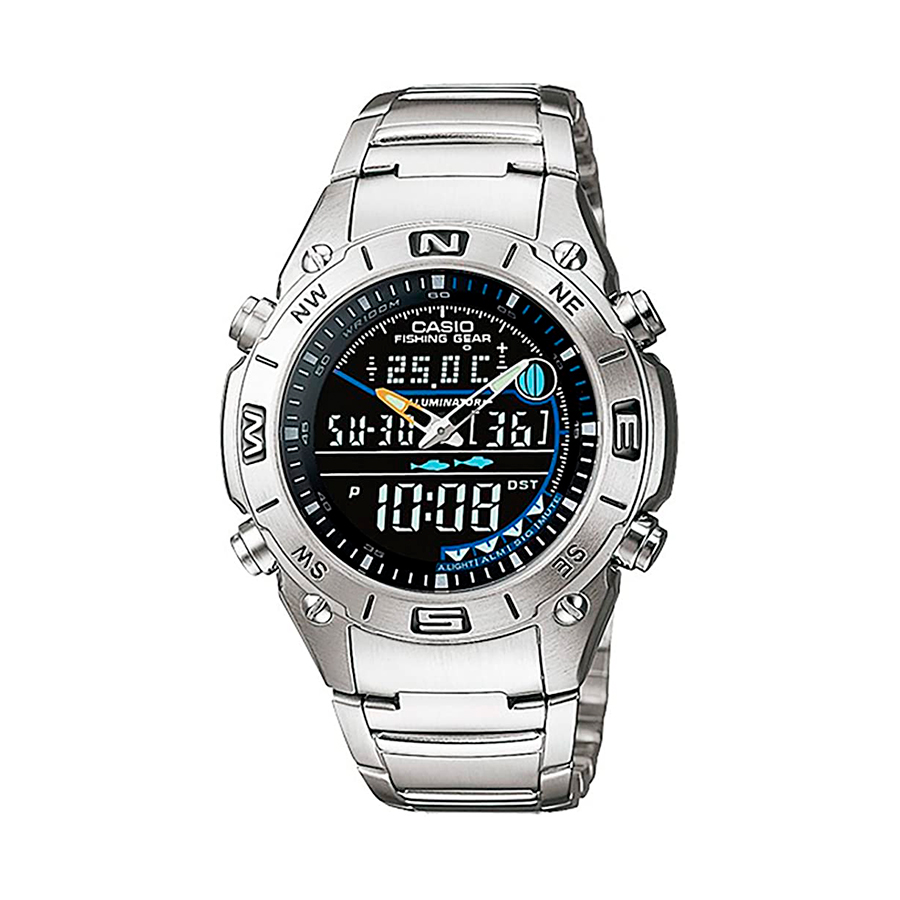 Reloj Casio COLLECTION Unisex AMW-703D-1AV digital cronografo