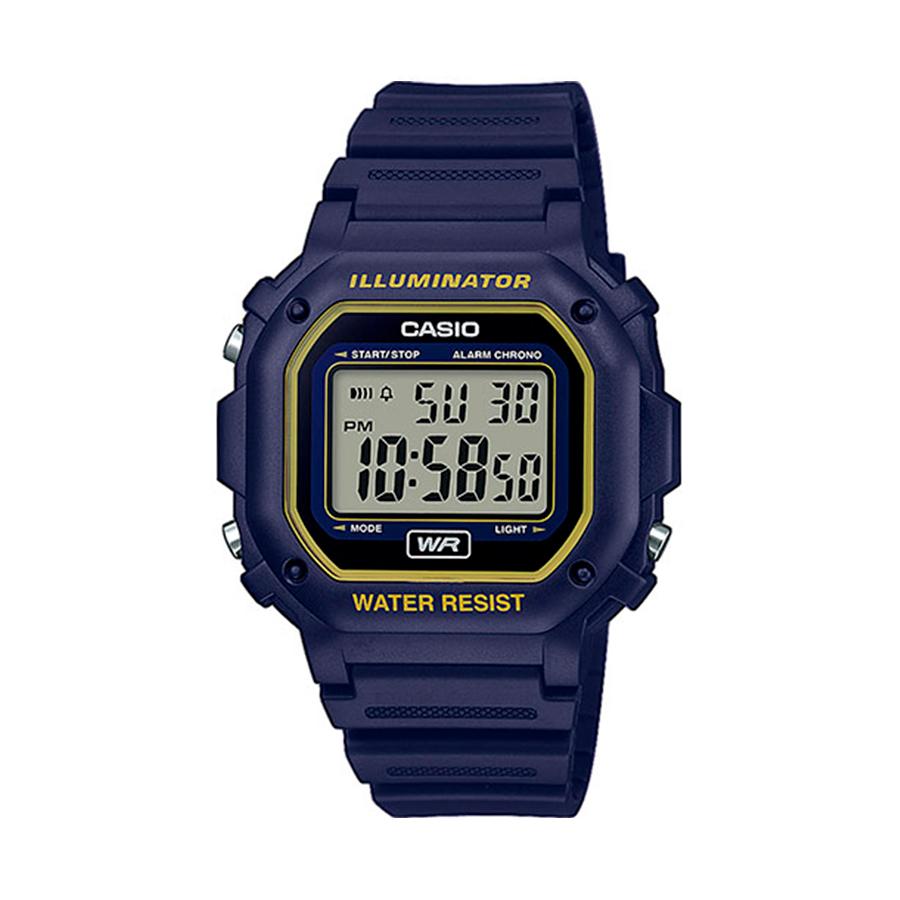 Reloj Casio COLLECTION Unisex F-108WH-2A2EF digital cronografo
