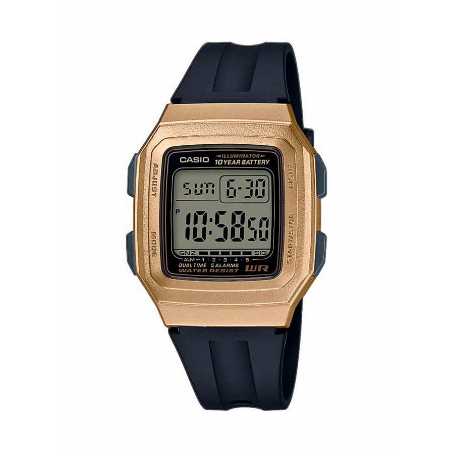 Reloj Casio COLLECTION Unisex F-201WAM-9AVEF digital cronografo