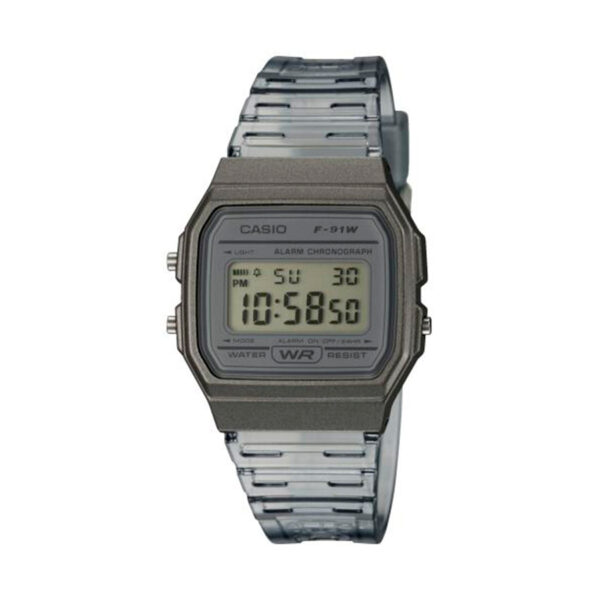 Reloj Casio COLLECTION Unisex F-91WS-8EF digital cronografo