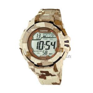 Reloj Calypso Calypso Sport Hombre K5681-2 Digital de camuflaje