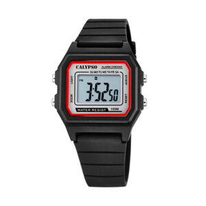 Reloj Calypso Crush Hombre K5805-4 Digital correa negra