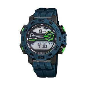 Reloj Calypso Crush Hombre K5809-2 Digital correa azul