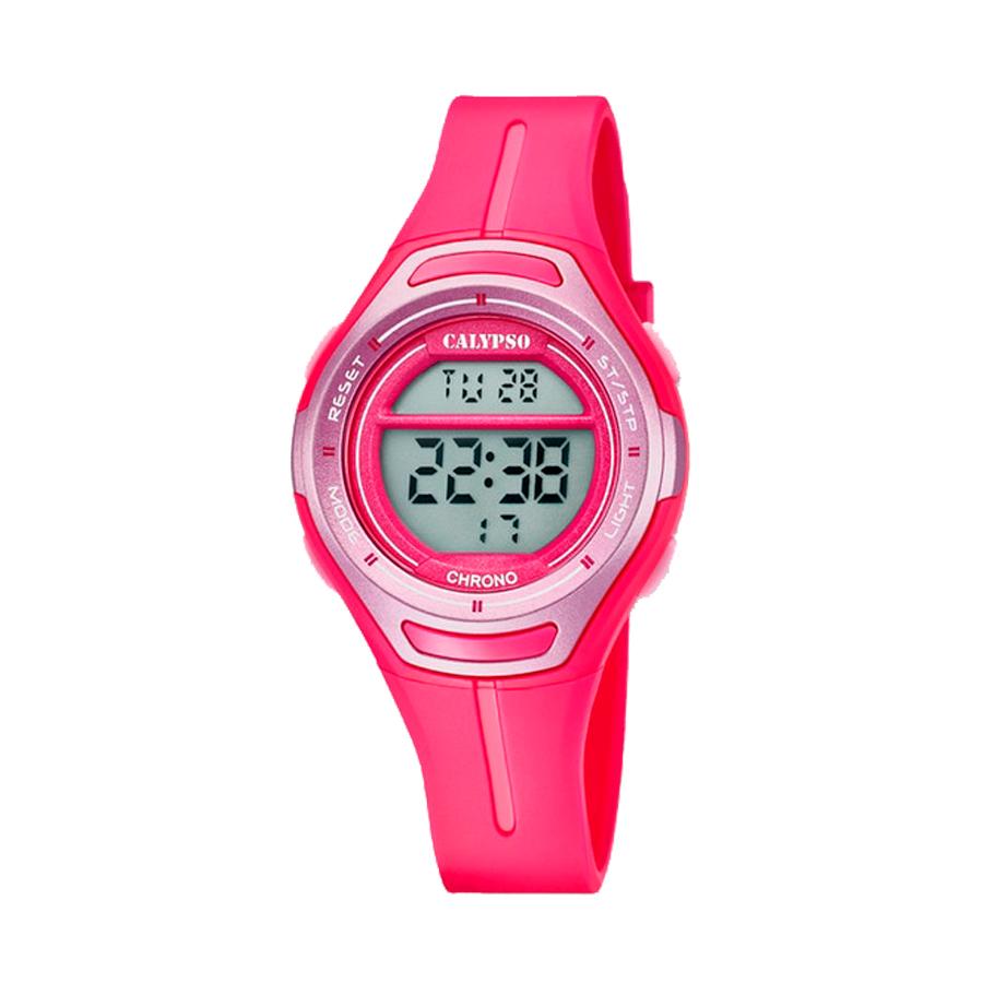 Reloj Calypso Crush Niña K5727-5 Correa silicona rosa