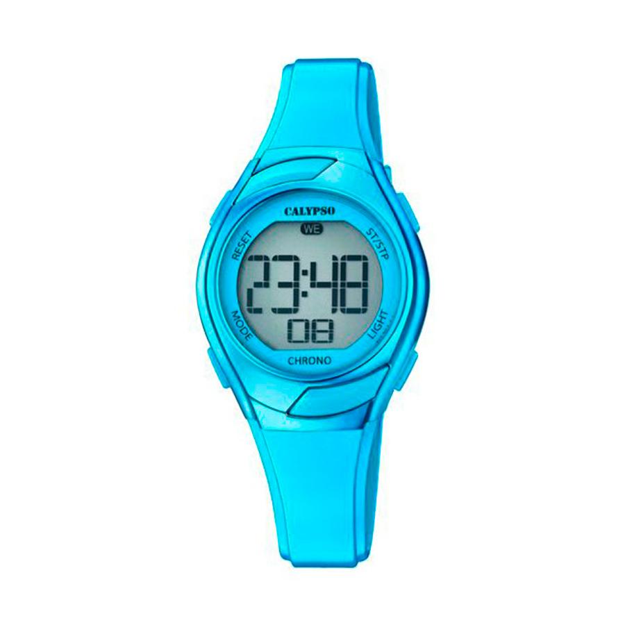 Reloj Calypso Crush Unisex K5738-6 Digital correa azul