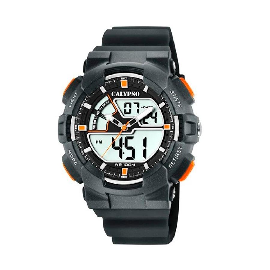 Reloj Calypso Digital for man Hombre K5771-4 Analógico-digital correa negra