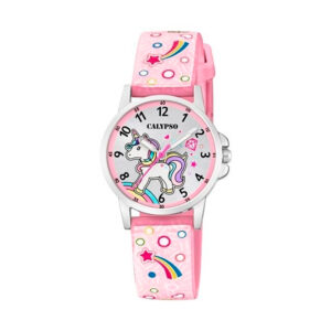 Reloj Calypso Junior Collection Niña K5776-5 Unicornio correa rosa