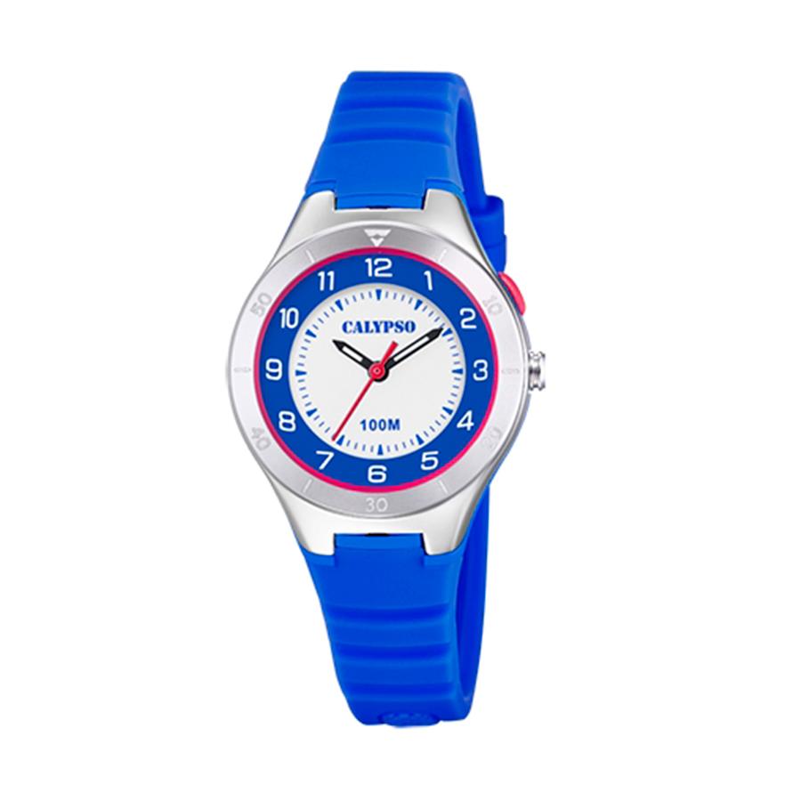 Reloj Calypso Junior Collection Unisex K5800-3 Correa silicona azul