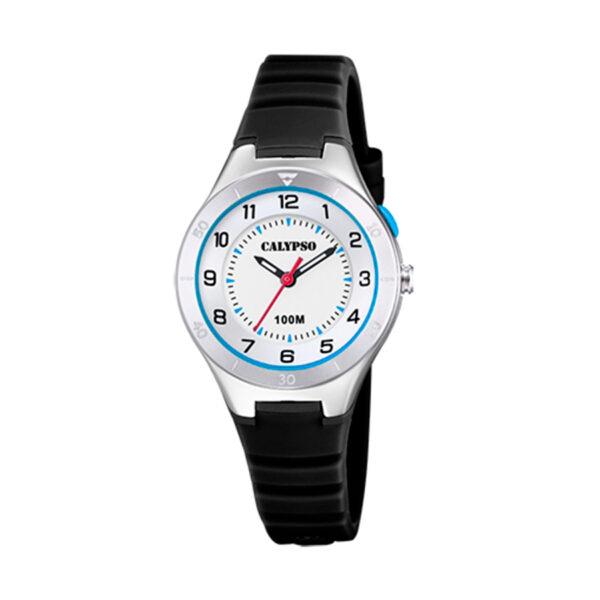 Reloj Calypso Junior Collection Unisex K5800-4 Unisex correa negra