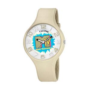 Reloj Calypso MTV Unisex KTV5591-3 Mtv unisex correa beige