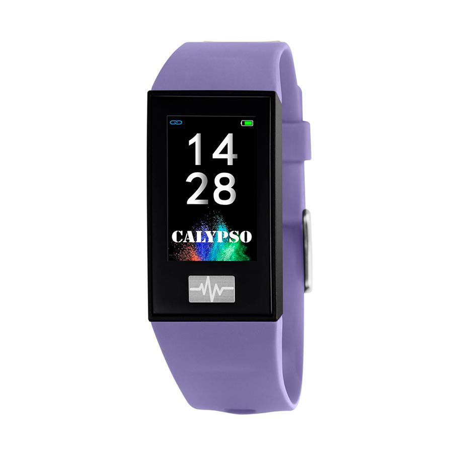 Reloj Calypso Smartime Unisex K8500-2 Reloj pulsera de actividad correa morada