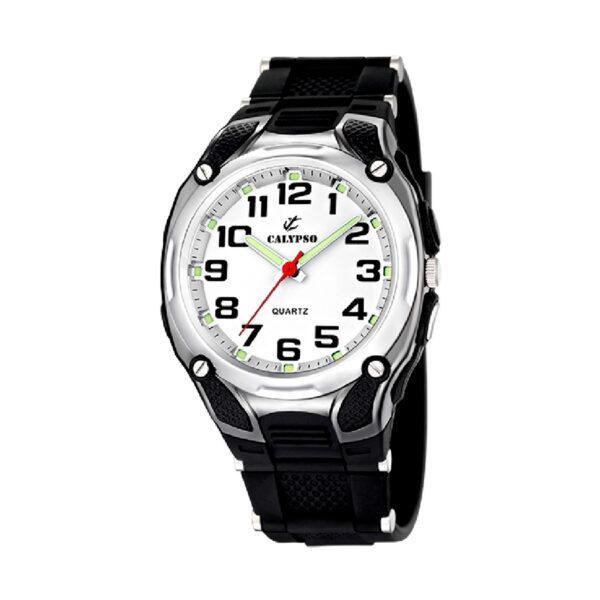Reloj Calypso Street style Hombre K5560-4 Correa de silicona negra