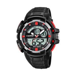 Reloj Calypso Street style Hombre K5767-3 Analógico digital correa negra