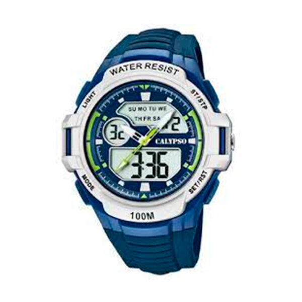 Reloj Calypso Street style Hombre K5770-3 Analógico-digital correa azul