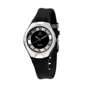 Reloj Calypso Street style Unisex K5162-2 Correa silicona negra