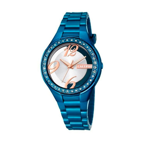 Reloj Calypso Trendy Mujer K5679-D Analógico correa azul