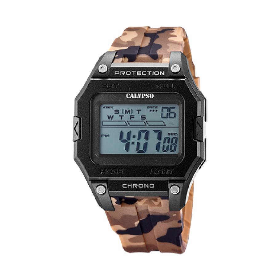 Reloj Calypso X-Trem Hombre K5810-2 Digital de camuflaje