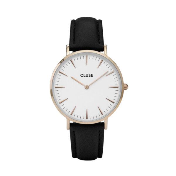 Reloj CLUSE La Boheme Mujer CL18008 Correa de piel negra