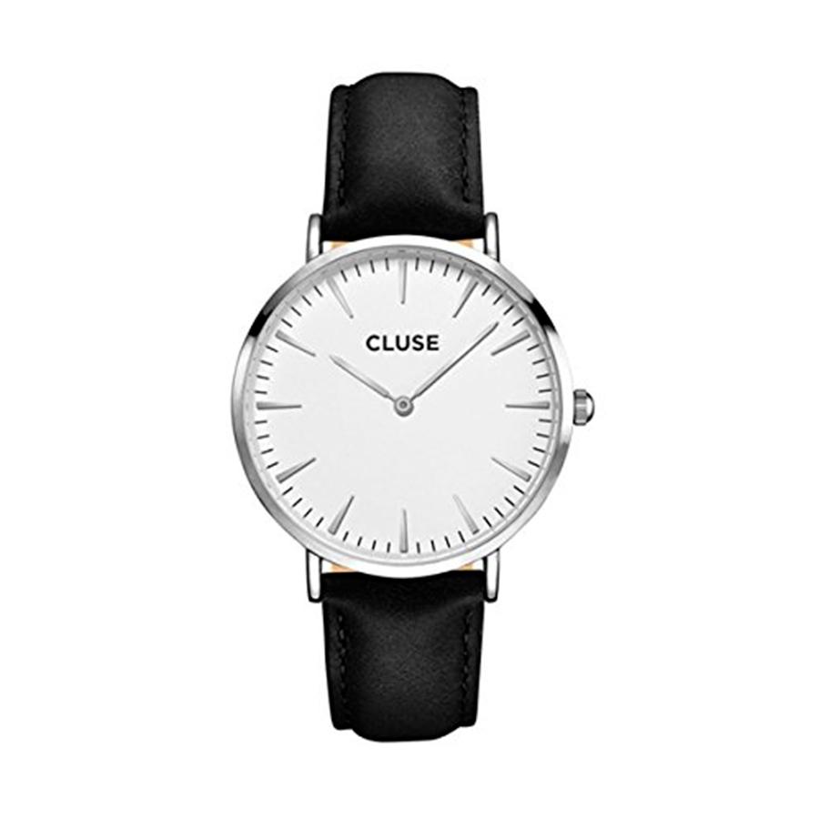 Reloj CLUSE La Boheme Mujer CL18208 Cuarzo correa piel negra