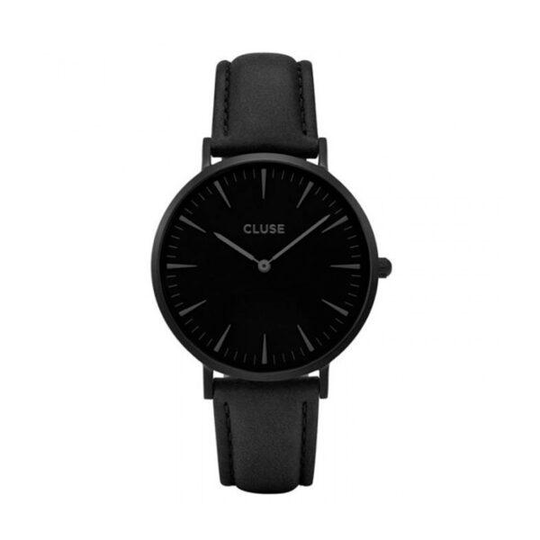 Reloj CLUSE La Boheme Mujer CL18501 Correa de piel negra