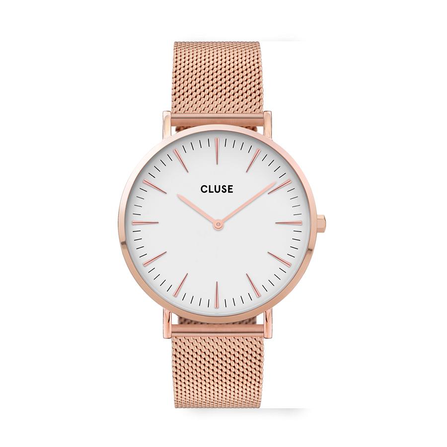 Reloj CLUSE La Boheme Mujer CW0101201001 Reloj cuarzo correa acero rosa