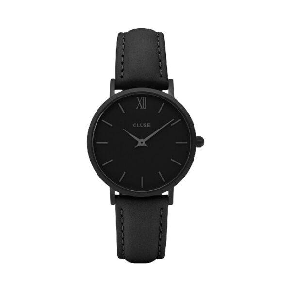 Reloj CLUSE Minuit Mujer CL30008 Analógico piel negra