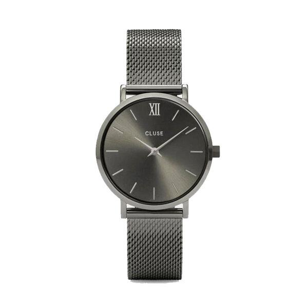 Reloj CLUSE Minuit Mujer CW0101203025 Analógico gris con correa de acero