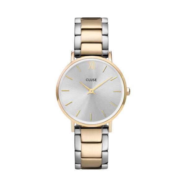 Reloj CLUSE Minuit Mujer CW0101203028 Cuarzo bicolor correa acero