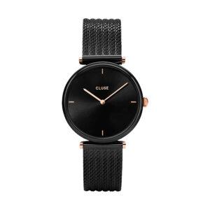 Reloj CLUSE Triomphe Mujer CW0101208004 Cuarzo malla acero negra