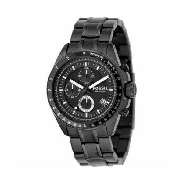 Reloj Fossil Decker Hombre CH2601 Crono acero negro