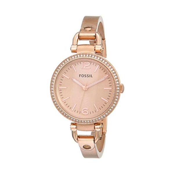Reloj Fossil Georgia Mujer ES3226 Acero rosado
