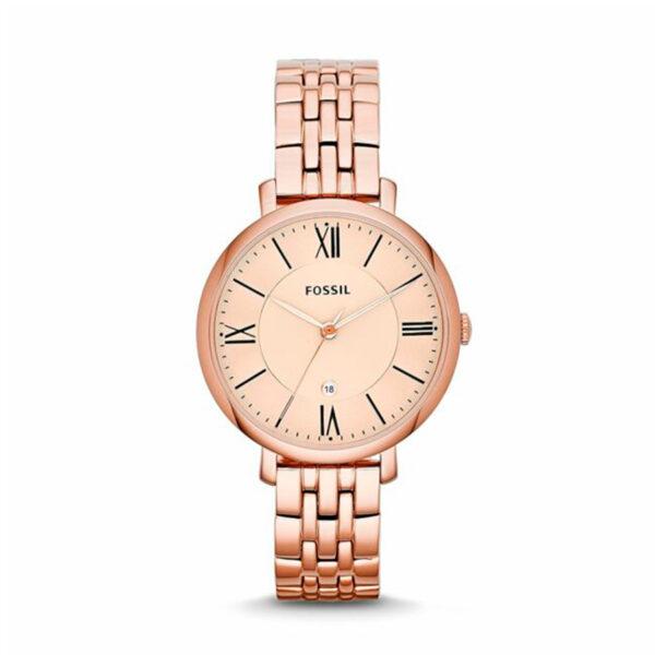 Reloj Fossil Jacqueline Mujer ES3435 Acero rosado