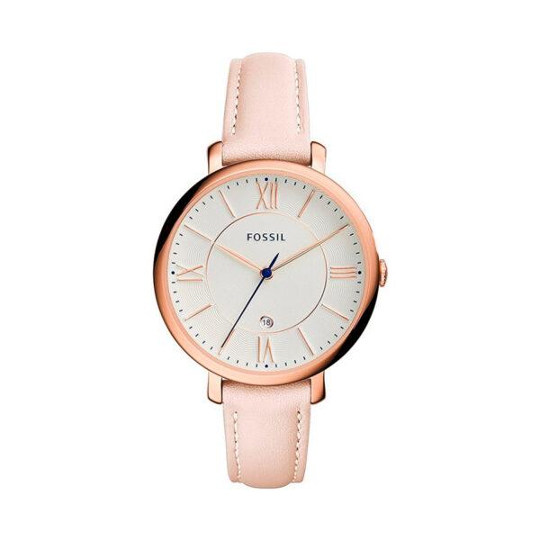 Reloj Fossil Jacqueline Mujer ES3988 Correa de piel rosa