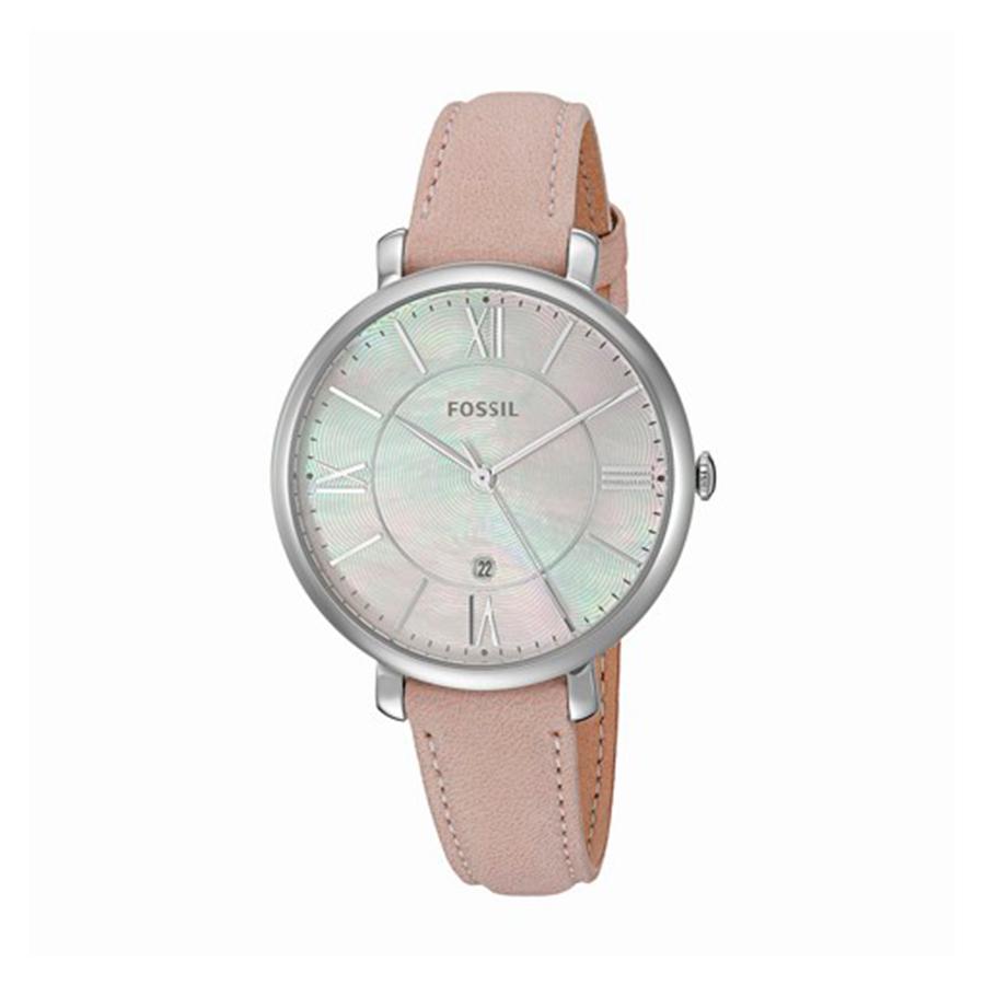 Reloj Fossil Jacqueline Mujer ES4151 Acero correa piel rosa