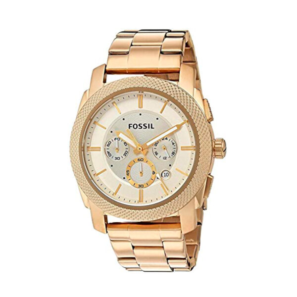 Reloj Fossil Machine Hombre FS5193 Crono acero dorado