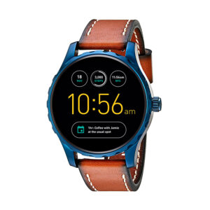 Reloj Fossil Q Marshal Hombre FTW2106 Smartwatch correa marrón