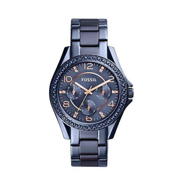 Reloj Fossil Riley Mujer ES4294 Acero azul