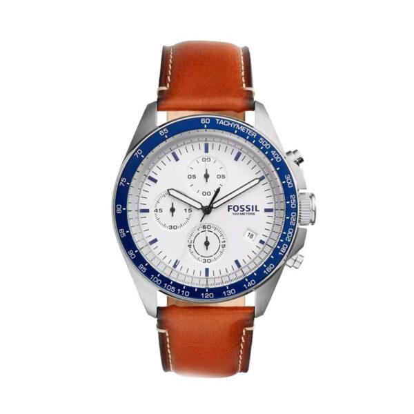 Reloj Fossil Sport 54 Hombre CH3029 Crono correa piel marrón