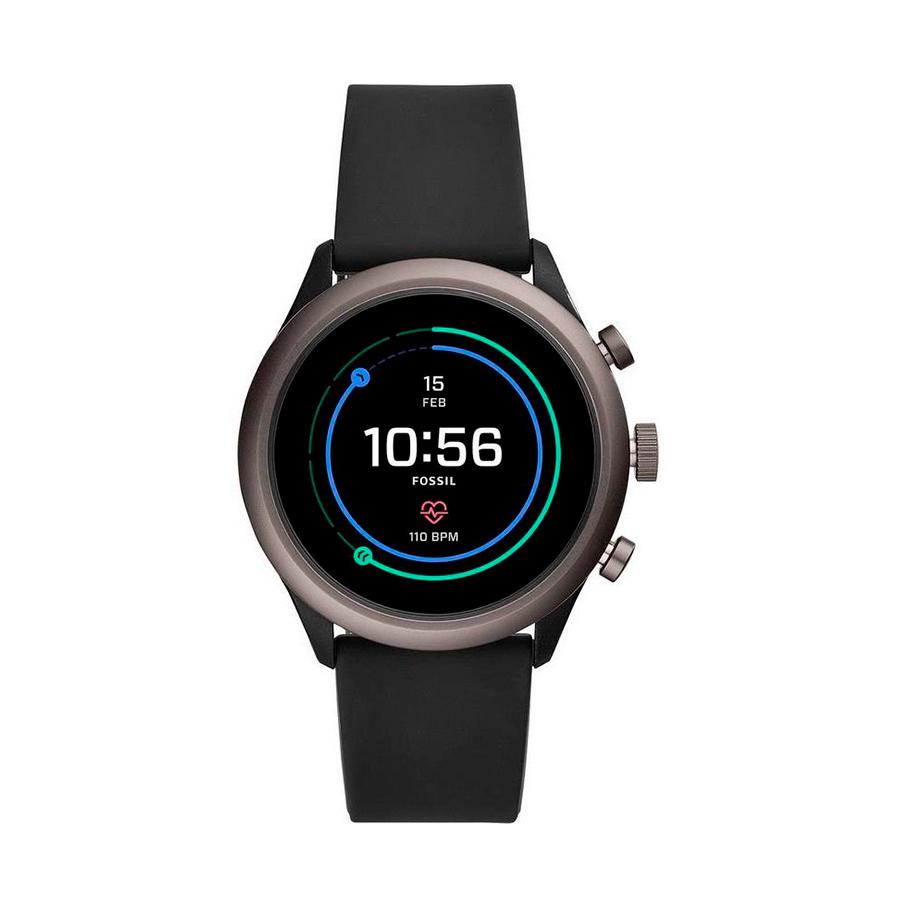 Reloj Fossil Sport Hombre FTW4019 Smartwatch correa negra