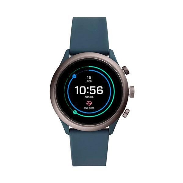 Reloj Fossil Sport Hombre FTW4021 Smartwatch correa azul