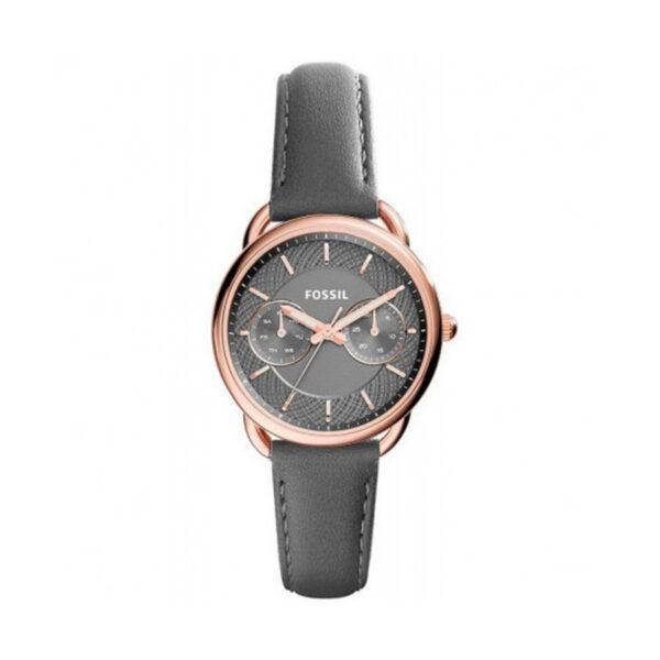 Reloj Fossil Tailor Mujer ES3913 Correa piel gris