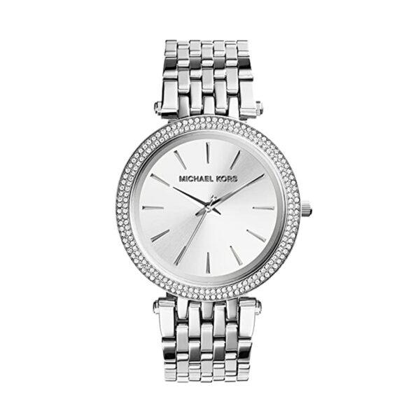 Reloj Michael Kors Darci Mujer MK3190 Acero plata con piedras en el bisel