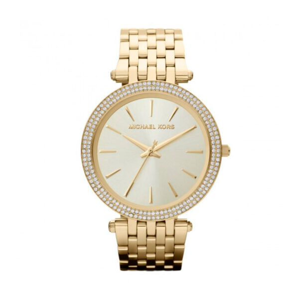 Reloj Michael Kors Darci Mujer MK3191 Acero dorado con piedras en el bisel