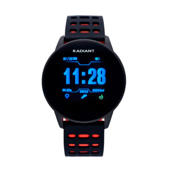 Reloj Radiant Smartwatch Brooklyn Bridge Unisex RAS20103 Smartwatch rojo y negro