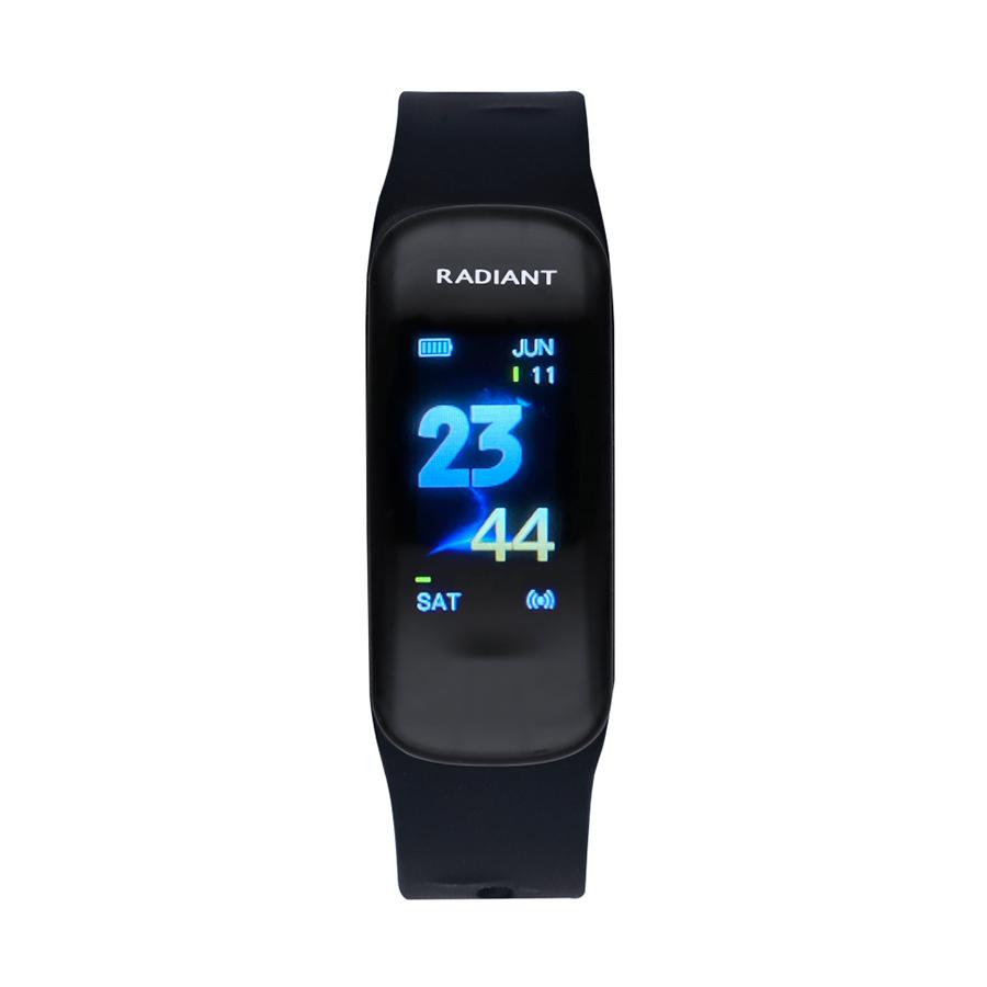 Reloj Radiant Smartwatch Central Park Mujer RAS30101 Smartwatch pulsera negra