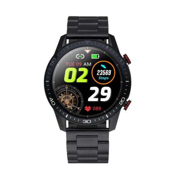Reloj Radiant Smartwatch Le Baron Club Hombre RAS20501 Correa acero negra
