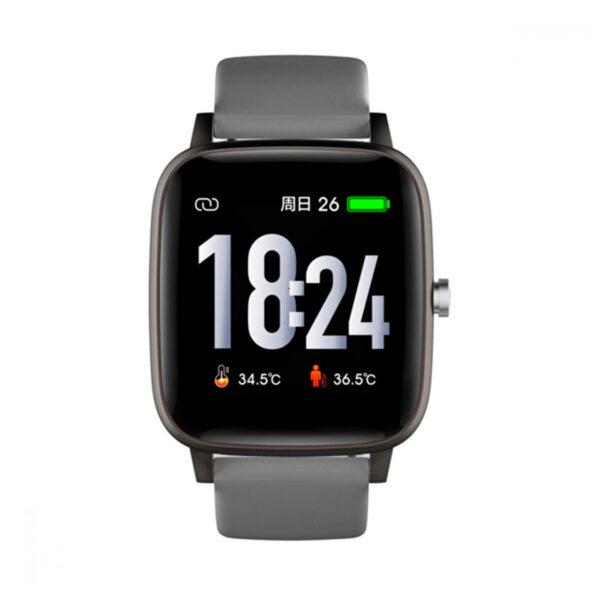 Reloj Radiant Smartwatch Queensboro Unisex RAS10202 Correa silicona gris
