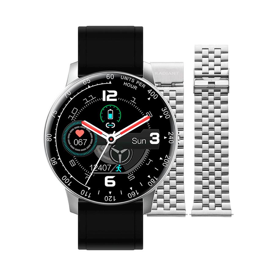 Reloj Radiant Smartwatch Times Square Mujer RAS20402 Correa Silicona